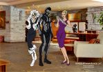 Diabolik meet Black Cat by FaGian