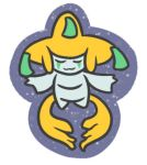 Jirachi Sticker Design by LunaNightSky