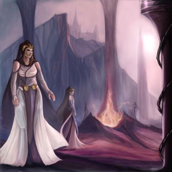Sisters of the Fire by Belegilgalad