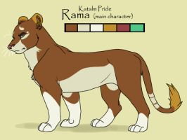 Rama Character Sheet by CreatureCreatingBabe