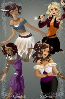 The Heroines of Olympus by Ninjacrab456