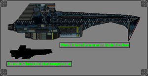 Metis Class Destroyer / Light Cruiser by GratefulReflex