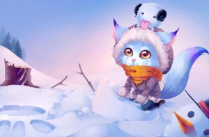 Gnar Snow Day - Skin Idea by Nazhiri