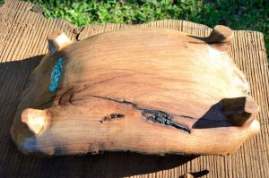 Mesquite bowl bottom by lamorth-the-seeker
