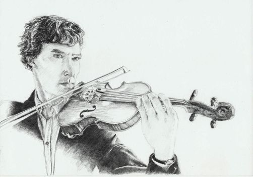 Sherlock Holmes by purecoincidence