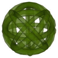 Translucent Green Bauble by Maginomicon