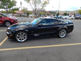 2006 Saleen S281 Mustang by TheHunteroftheUndead