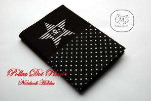 Polka Dot Pirate Notebook by tinkelstein