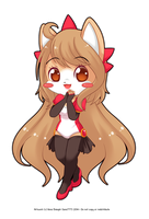 Chibi Stephanie - Commish by luna777