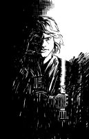 Anakin sharpie sketch by icarus0202