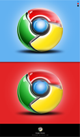 Google Chrome Logo by iBrushART