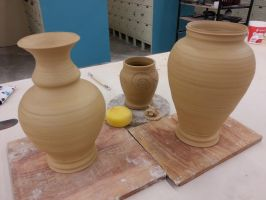 W.I.P. Pots by CoryTheDuck