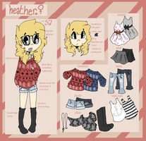 Heather Persona Refference by Oashi