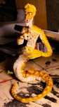 Naga poseable doll by Obman-Veschestv