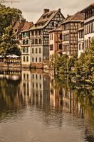 Reflections of Strasbourg. by MarioGuti