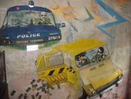 police chase in Szatyor pub by LilDash