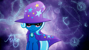 Trixie Arcane Wallpaper by ryuuichi-shasame