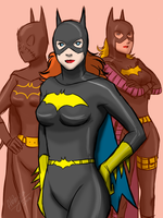 Bat Girls by Colours07