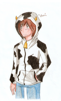 Cow Sweater by Ririsia