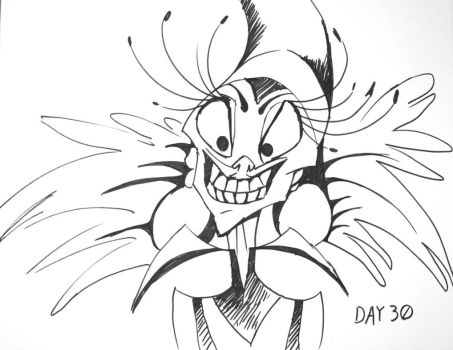 Inktober Day 30 by ShadowSpyProductions