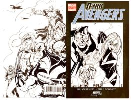 DarkAvengers1 Boo Art ON SALE by TheBoo