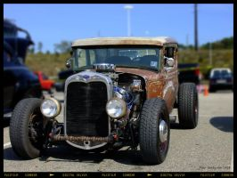 Pittsburgh Mills Rat Rod by yankeedog