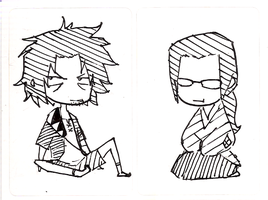Stickers: Samurai Champloo by yongharn
