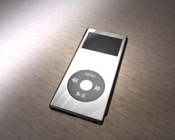 iPod Nano by JustDippin