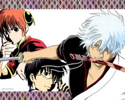 Gintama Manga Color by Echo-of-Sound