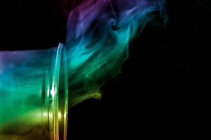 Smoke in a Cup: Colorized by lifeinedit