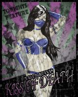 Kiss Of Death Mortal Kombat Carnival Poster by Chuck-K