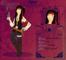 ToS application: Maria Callisto by purple-mist