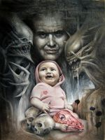 h r giger homage 2 by imagist