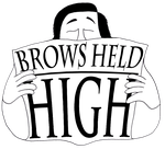 Brows Held High (Hirschfeld Logo) by AniMat505