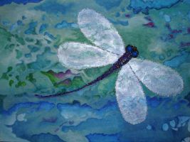 Embellished Dragonfly by ChaoticatCreations
