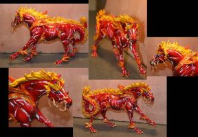 Chinese Horse Custom by AlbinoRaven666