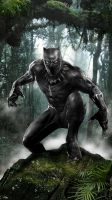 Black Panther by uncannyknack
