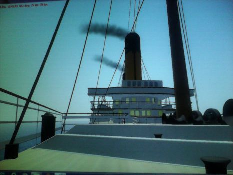 RMS oceanic's bridge and superstructure by thesketchydude13