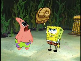 SPONGEBOB PRAISES LORD HELIX by THEONEAWFULACCOUNT