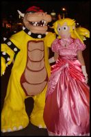 2010 - Bowser and Peach by Halloweeners
