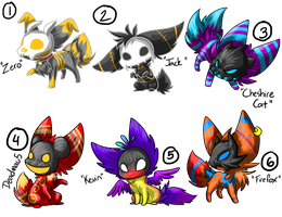 .:___-to-Adopt--1st Batch of Viricrons! [CLOSED]:. by FlamesVoices