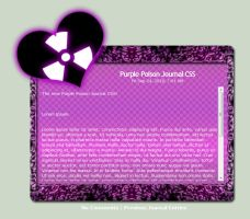 Purple Poison Journal CSS by TheFlyinFerret