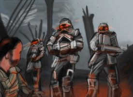 Killzone 3 speedpaint by AtomicWarpin