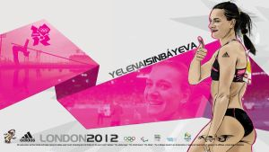 Yelena Isinbayeva Adidas London 2012 by akyanyme