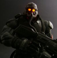 Helghast in the dark by Jin-Saotome
