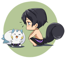 Pokemon meets Free! by AgentKnopf