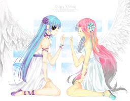 .Two Angels. by AndiciaInWonderland