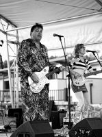 Red Elvises by Vermontster