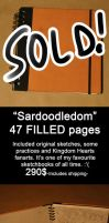 SKETCHBOOK SALE-Sardoodledom by Razuri-chan