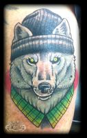 Wolf by state-of-art-tattoo